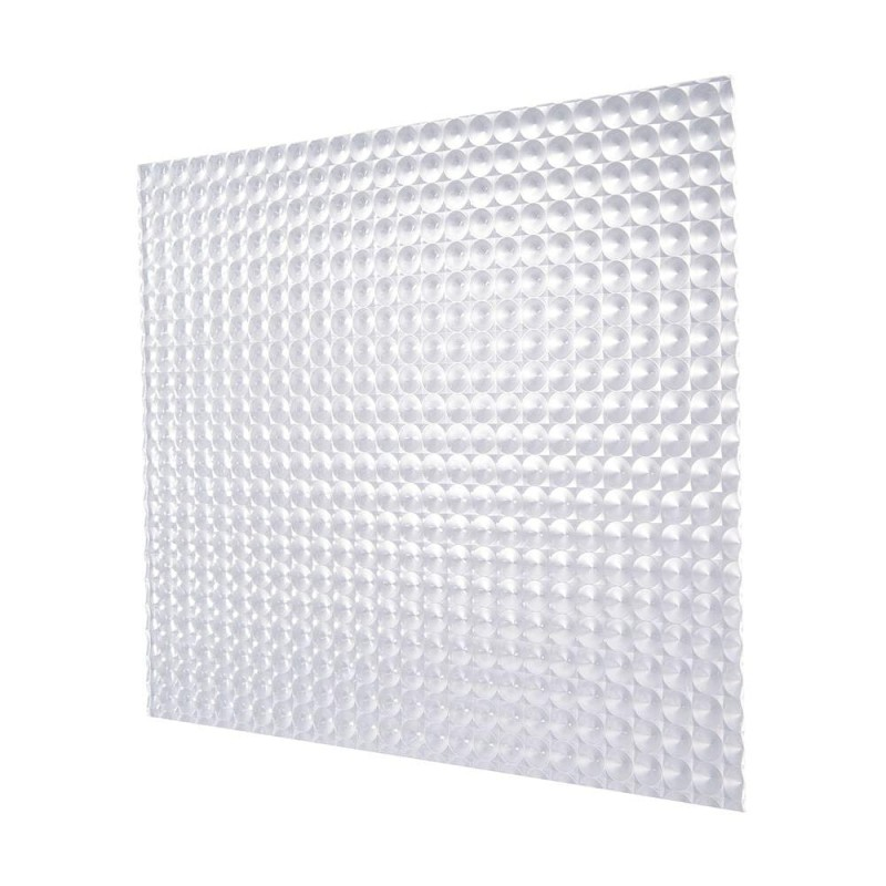 Plastic Light Prismatic Diffuser Tile For Suspended