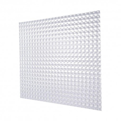 Prismatic Diffuser Clear Plastic Panel For Ceiling Lights