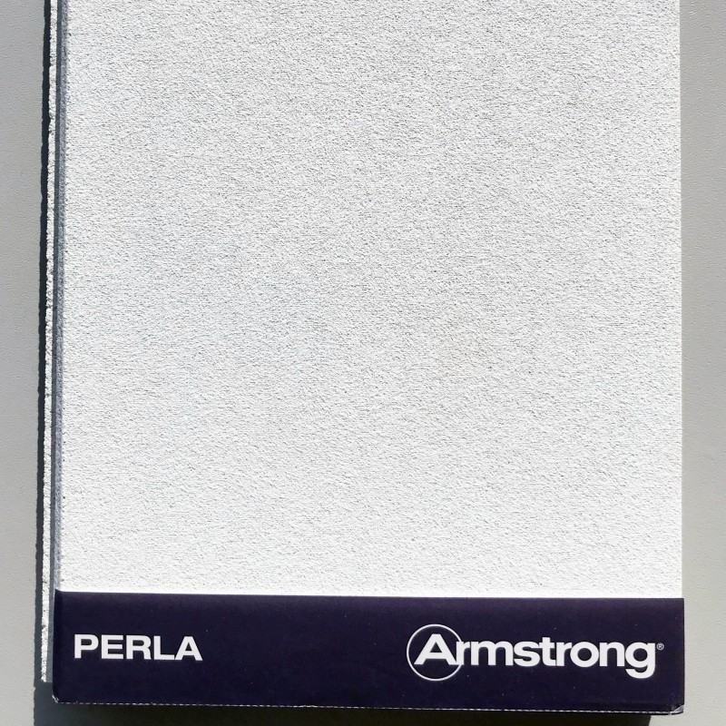 Armstrong Perla Suspended Ceiling Tiles 600x600mm Square Edge