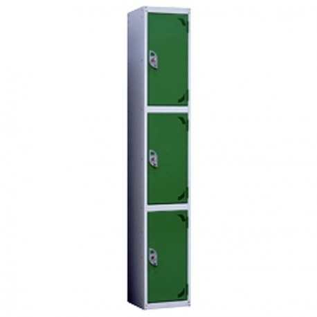 3 Door Steel Lockers