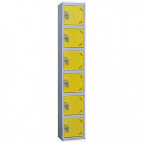 6 Door Steel Lockers