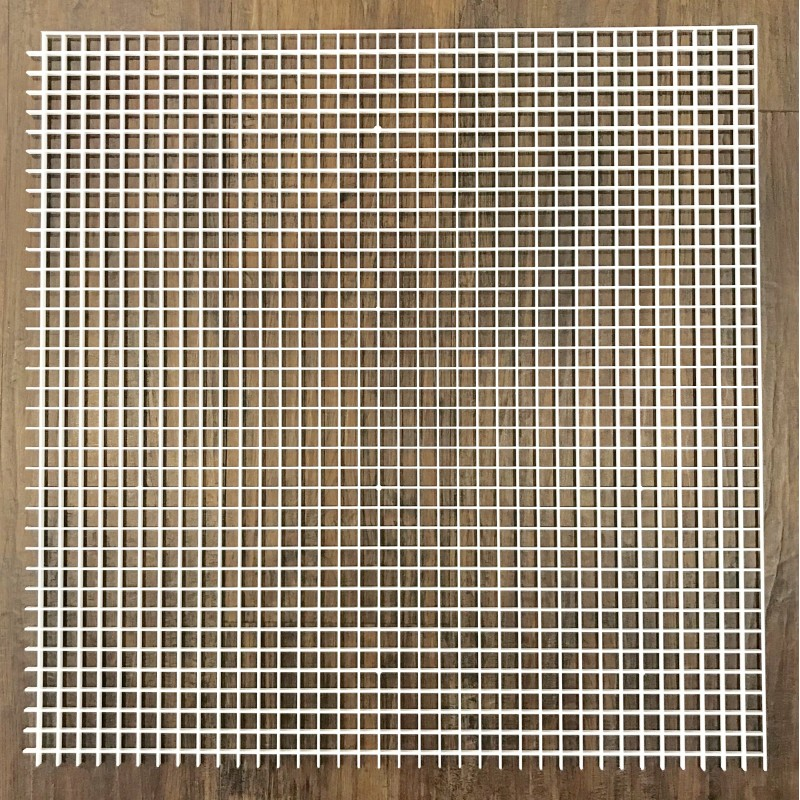 Egg Crate Louvre Suspended Ceiling Ventilation Tiles